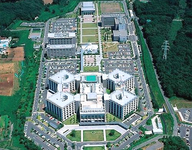 国際医療センターの全景