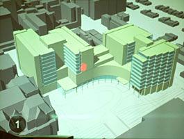 ジョンズホプキンス大学病院の 新病院計画(2008年開設予定)