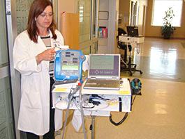 病棟での電子カルテシステム